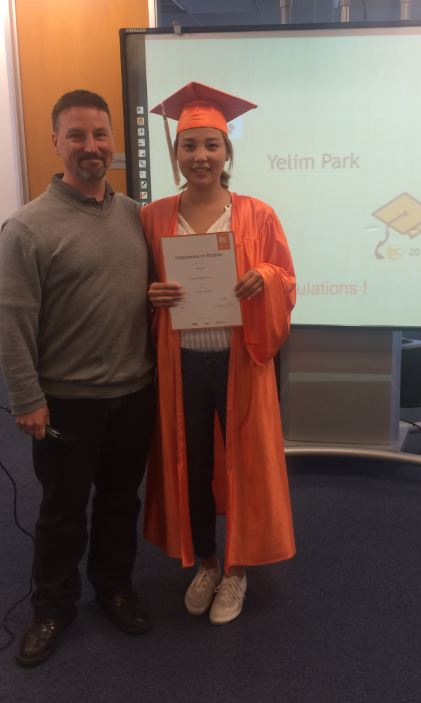 Yelim Park from Korea shares some thoughts on her 20 weeks at EC San Francisco