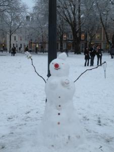EC Bristol English School - Snowman