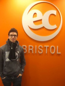 EC Boston English Student Sergio Rodriguez Bello