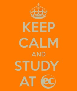 Keep Calm and study at ec