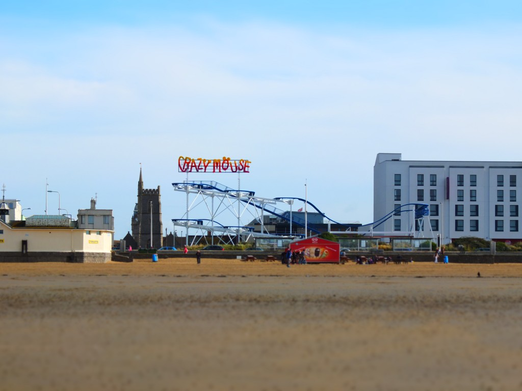 Crazy Mouse at Weston-Super-Mare