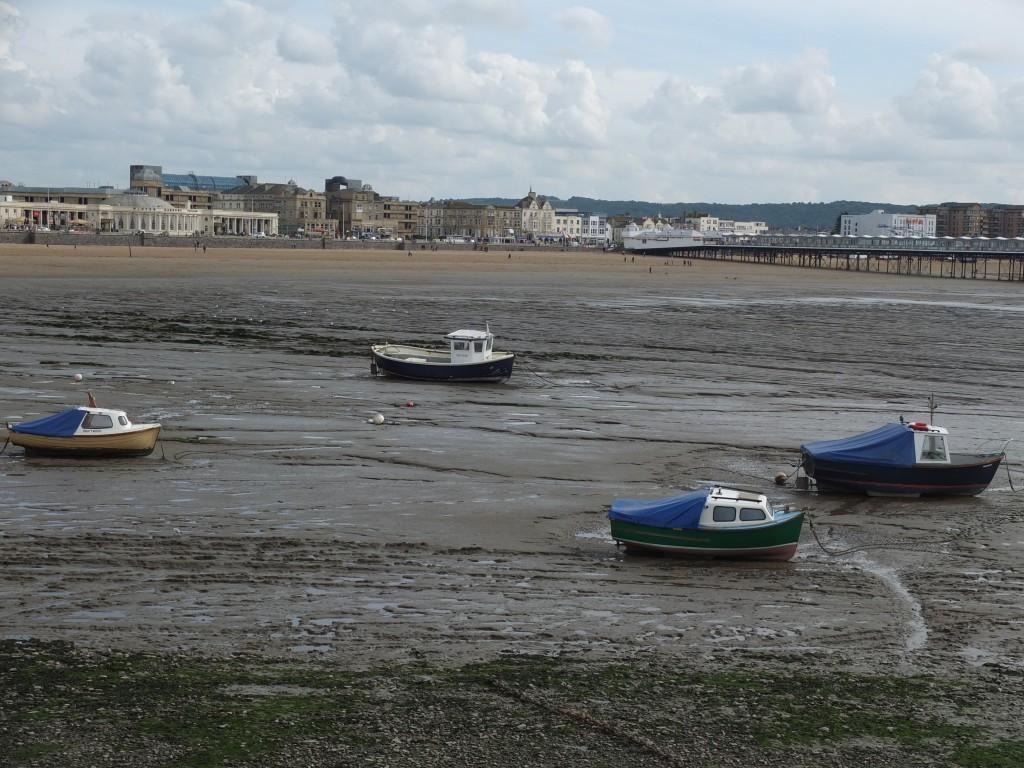 Low tide at Weston-Super-Mare!