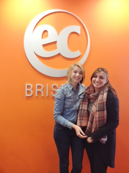 Valeria Cacace - Learn English in Bristol with EC!