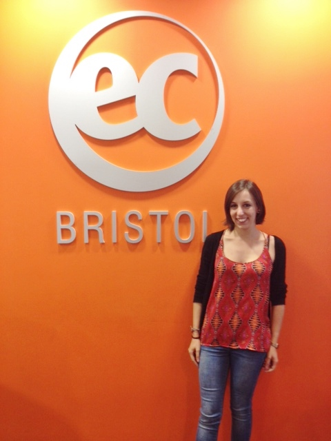 Marta Lozano at EC Bristol English School!