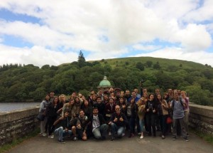 EC Bristol students in Elan Valley