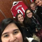 Marianna at the Manchester Stadium