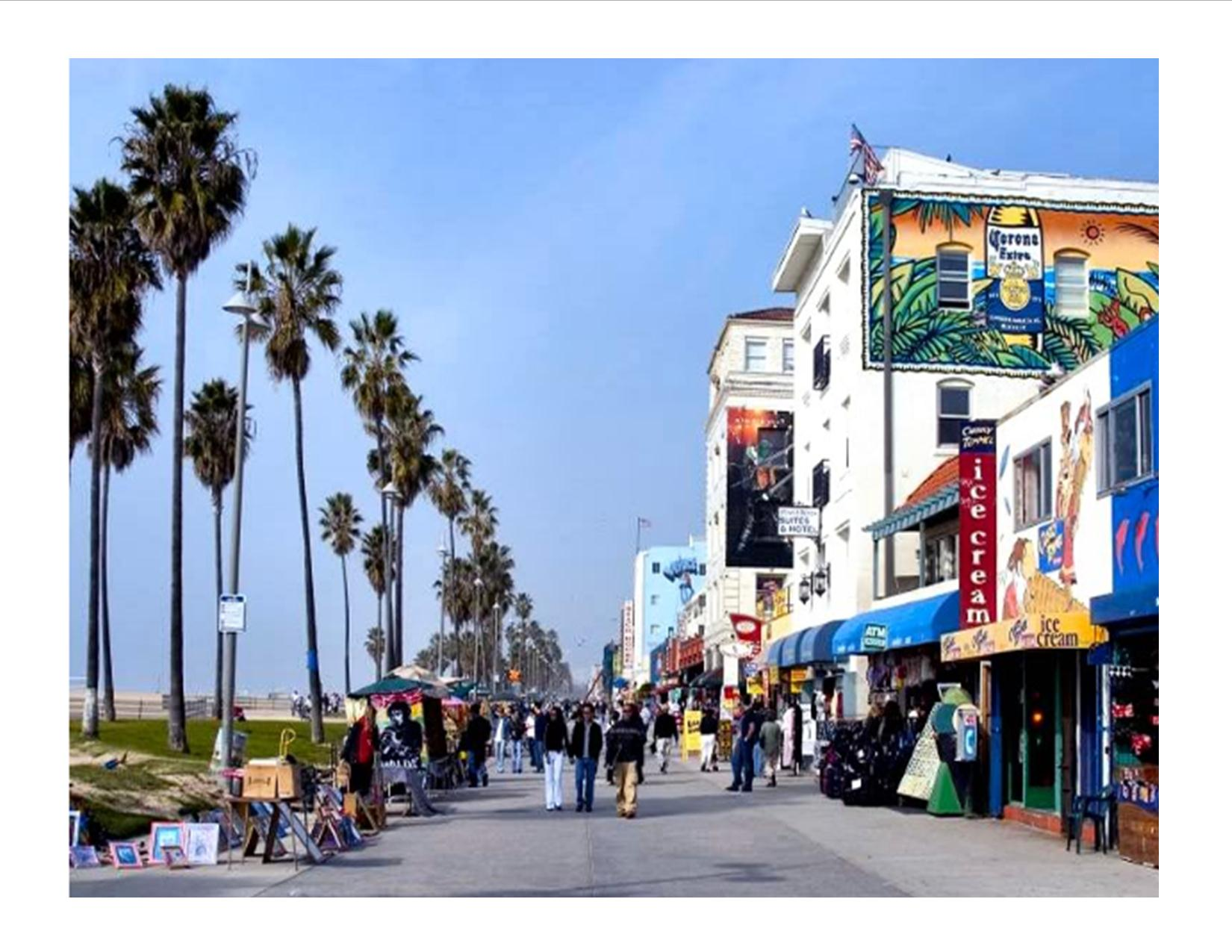 Venice beach by ecla student ambassador donsel meier for Must see and do in los angeles
