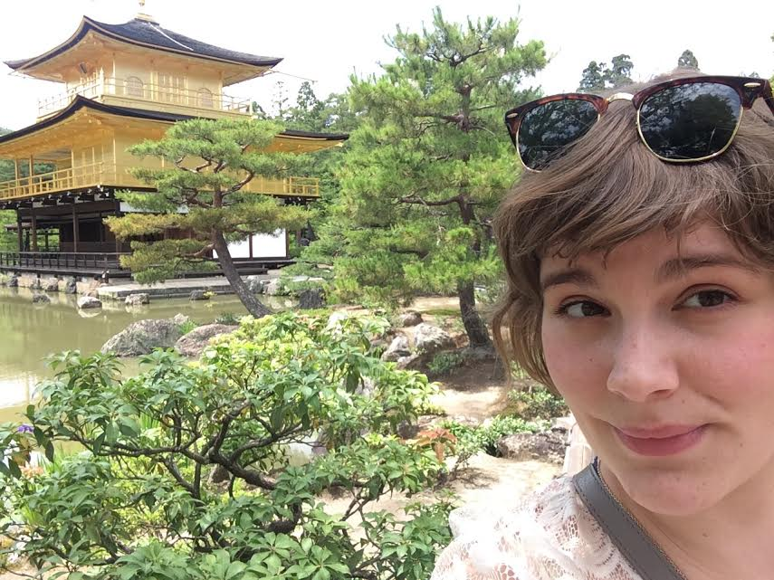 ECLA, Japan, Kinkakuji, Golden Pavilion, study in USA,