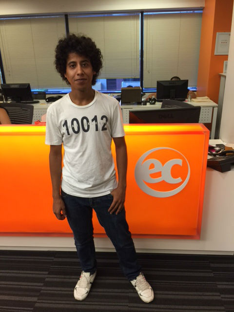 Ahmad - new Student Ambassador at EC Los Angeles English School