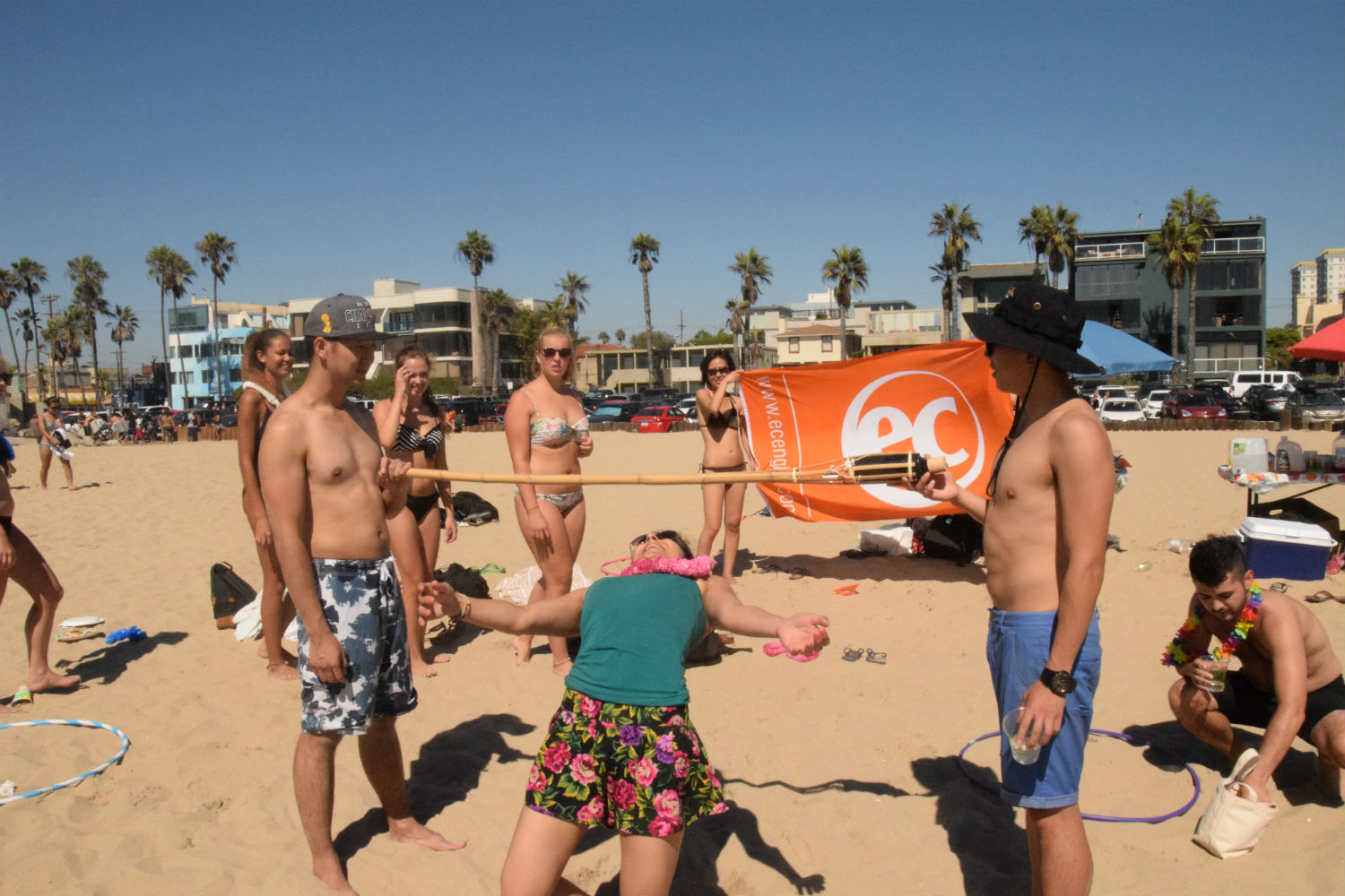EC Los Angeles holds its first annual Summer Beach Luau