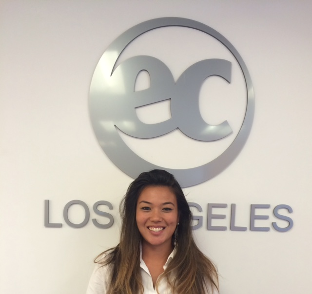 Thais is participating in the EC Los Angeles Student Ambassador Program