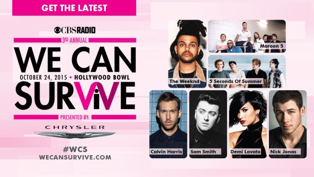 Cancer Awareness concert at the Hollywood Bowl