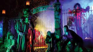 Visit Knott's during Halloween!