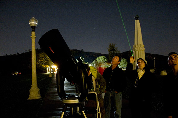 Learn about our universe at the famous Griffith Observatory.