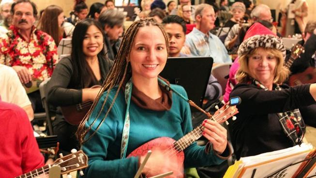 Christmas music ukulele style!
