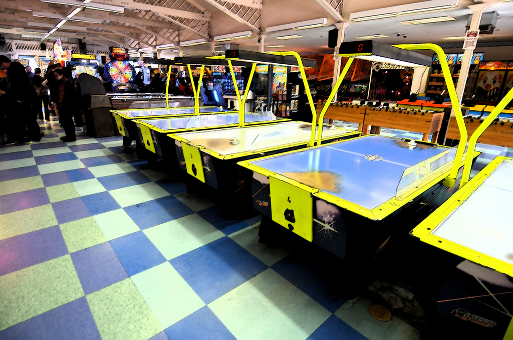 Join us for some games at the Santa Monica Arcade.