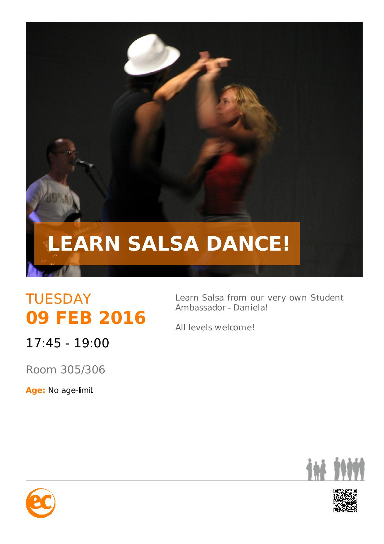 Learn Salsa Dance with EC!
