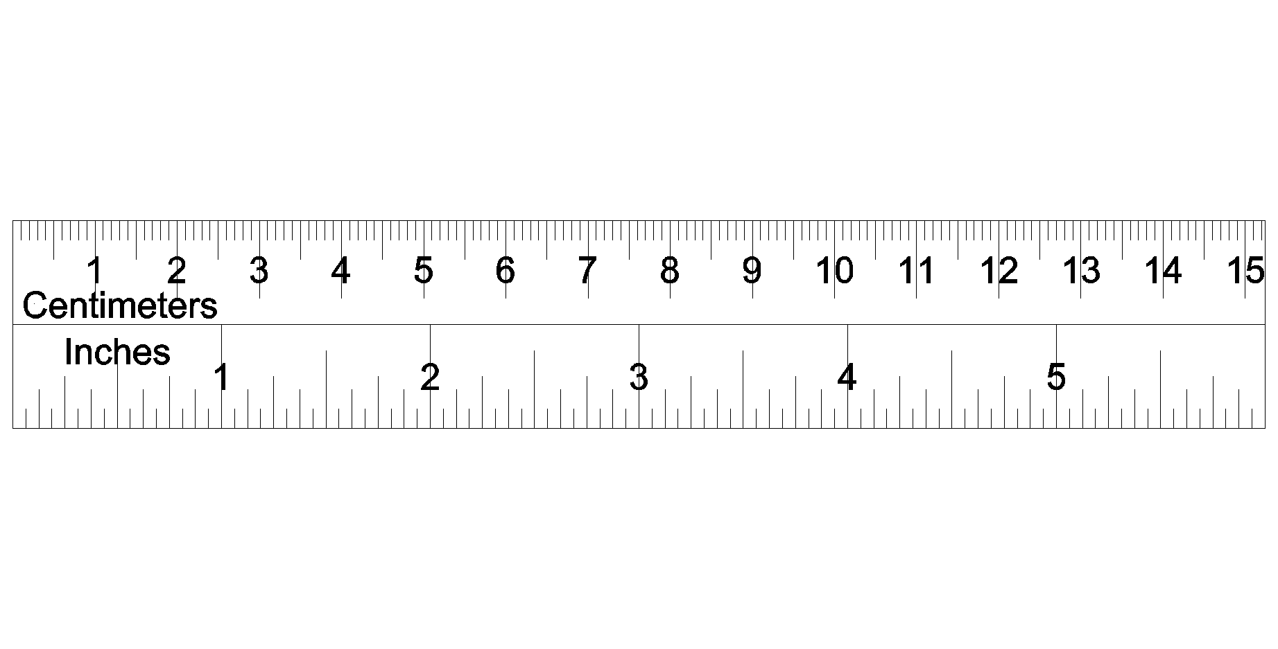 image relating to Centimeter Ruler Printable named ruler on the web inches -