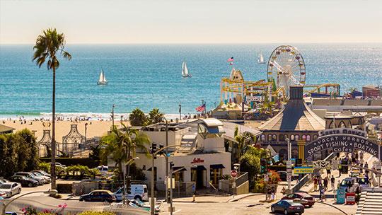 Visit us in sunny Santa Monica!