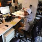 Keisuke, our intern.
