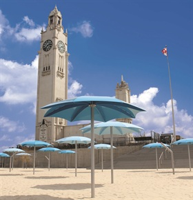 clock tower beach