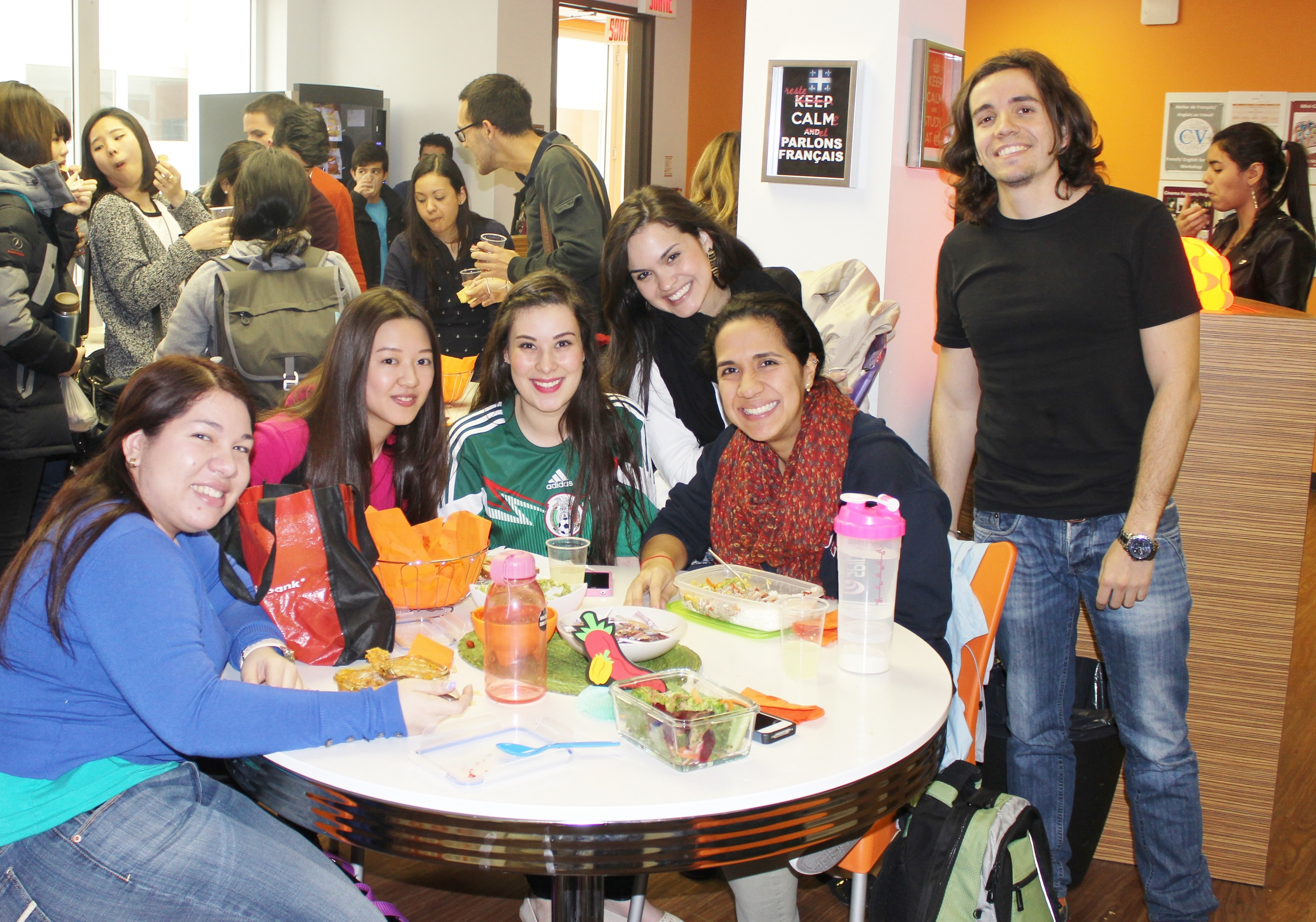 EC Montreal Language School celebrates Mexican Fiesta