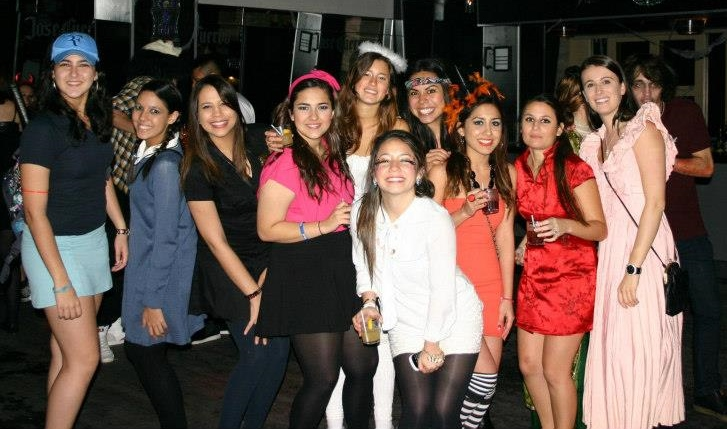 halloween nightclub
