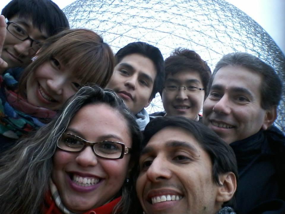 biosphere selfie
