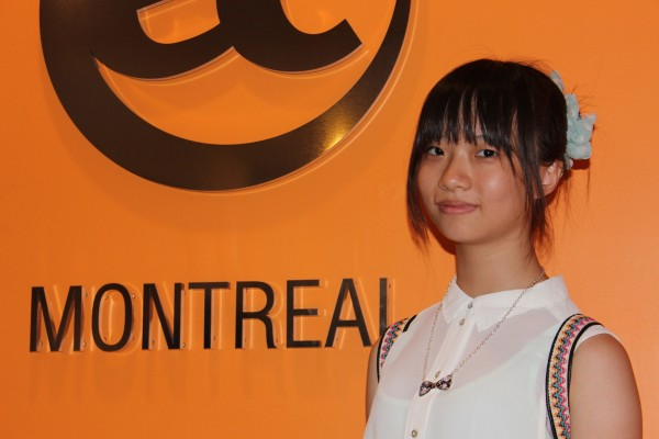 Chenyng Su  from Taiwan is learning English in Montreal
