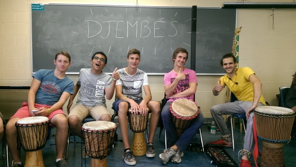 Learning English in Montreal (and Djembe Playing Too)