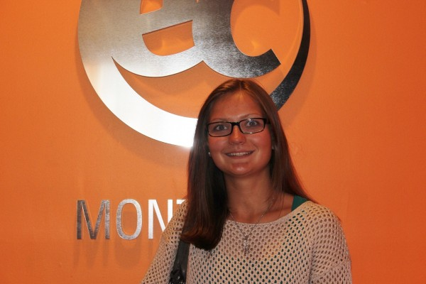 German student Lissy Steffens studied English at EC Montreal