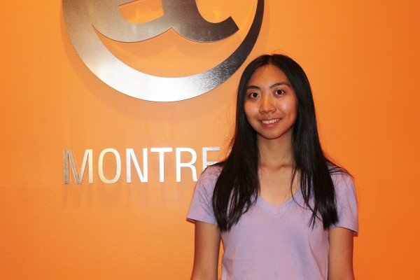Lia Jueng is studying French in Canada with EC Montreal