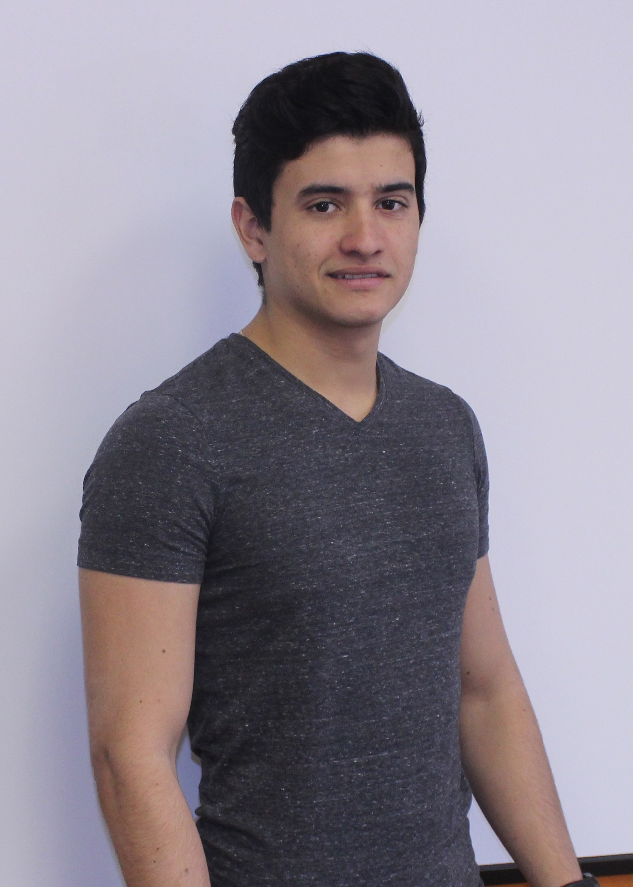 Nicolas Ramirez from Colombia is taking a French Language Course at EC Montreal, Canada