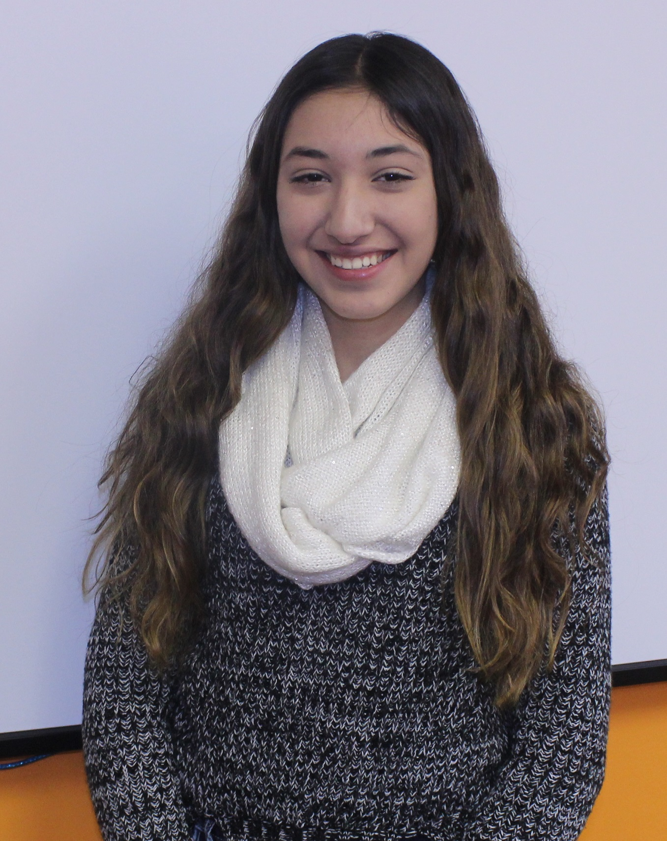 Andrea Rady from Mexico is studying English at EC Montreal, Canada