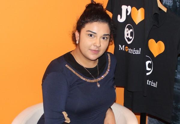 EC Montreal ESL Student Dulce Nathali Fierro Santos