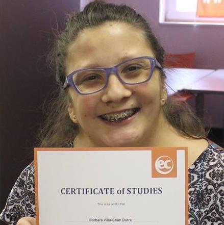 EC Montreal ESL Student Barbara Dutra
