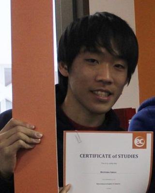 EC Montreal ESL Student Michitaka Sakon