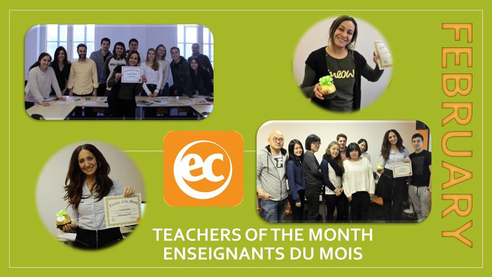 feb teachers of the month