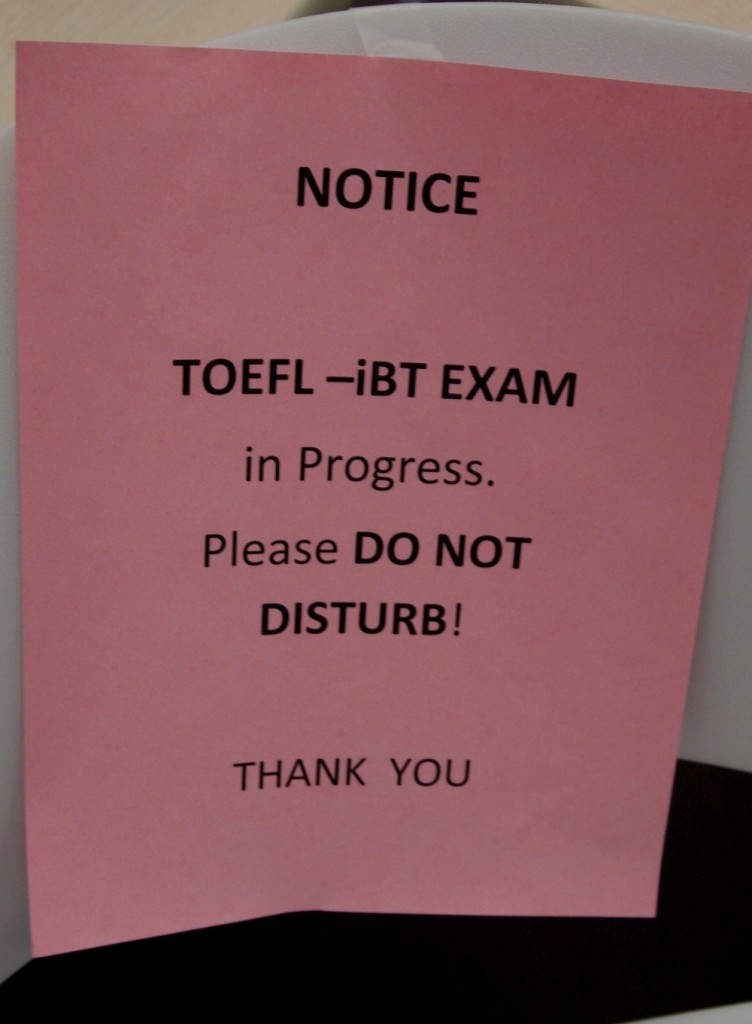 TOEFL Exam 3