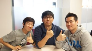 3 korean boys