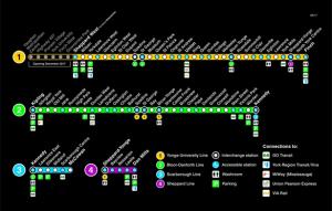 Ttc Subway Map Green Line.New Ttc Subway Map Ec Toronto Blog