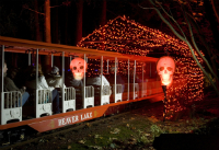 Ghost Train At Stanley Park