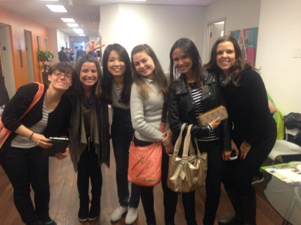 Wanchen (Daisy) and her friends - Study English in Canada with EC