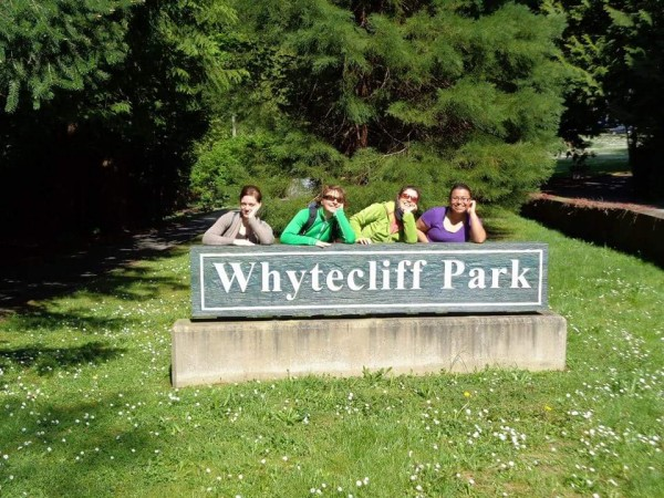 Gabi at Whytecliff Park