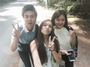 Yeonho Jeong from Korea is learning English in Vancouver with EC