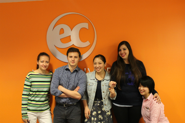 New interns at EC Vancouver English School