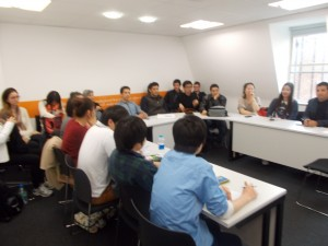 Students Learning English in Oxford