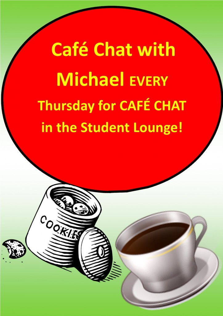 Cafe Chat with Michael