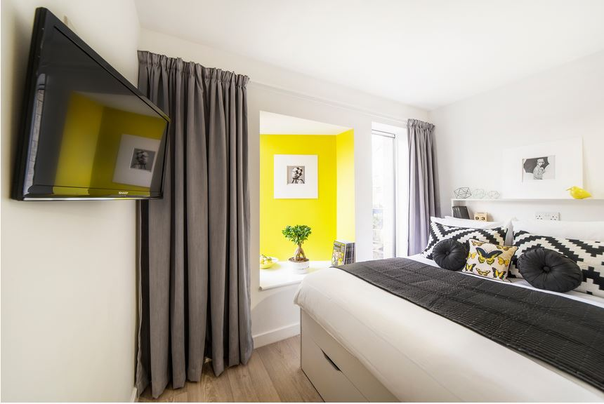 English Student Oxford Accommodation: Alice House Studio Apartment