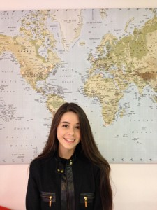 Elke is studying English at EC Oxford